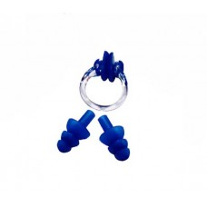 601009 Silicone Set Ear Plug+Nose Clip