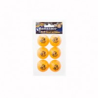 Tamanaco B23122 Table Tennis Balls (2 Star)