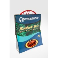 Tamanaco ABT-07 Official Size #7 Rim, Net & Rubber Basketball Set