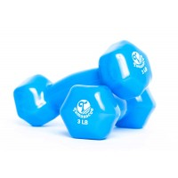 W3202-3LB Vinyl Dipping Dumbbells
