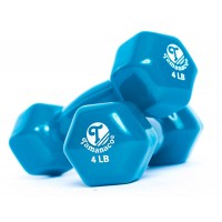 W3202-4LB Vinyl Dipping Dumbbells