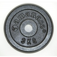 PRP2-3KG Regular Plate w/Round Edge